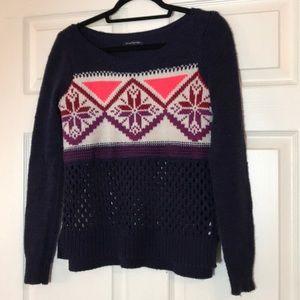 GUC fair isle sweater American Eagle
